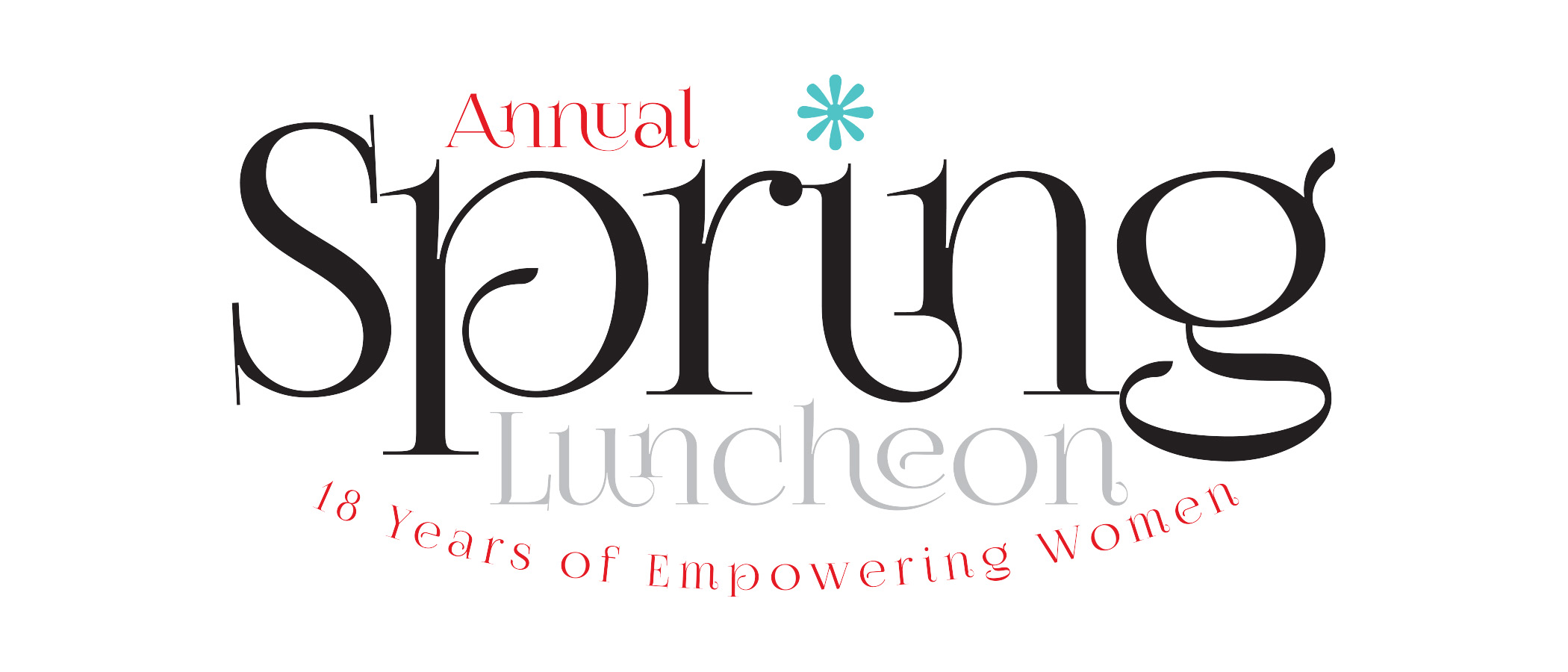 Spring Luncheon Banner