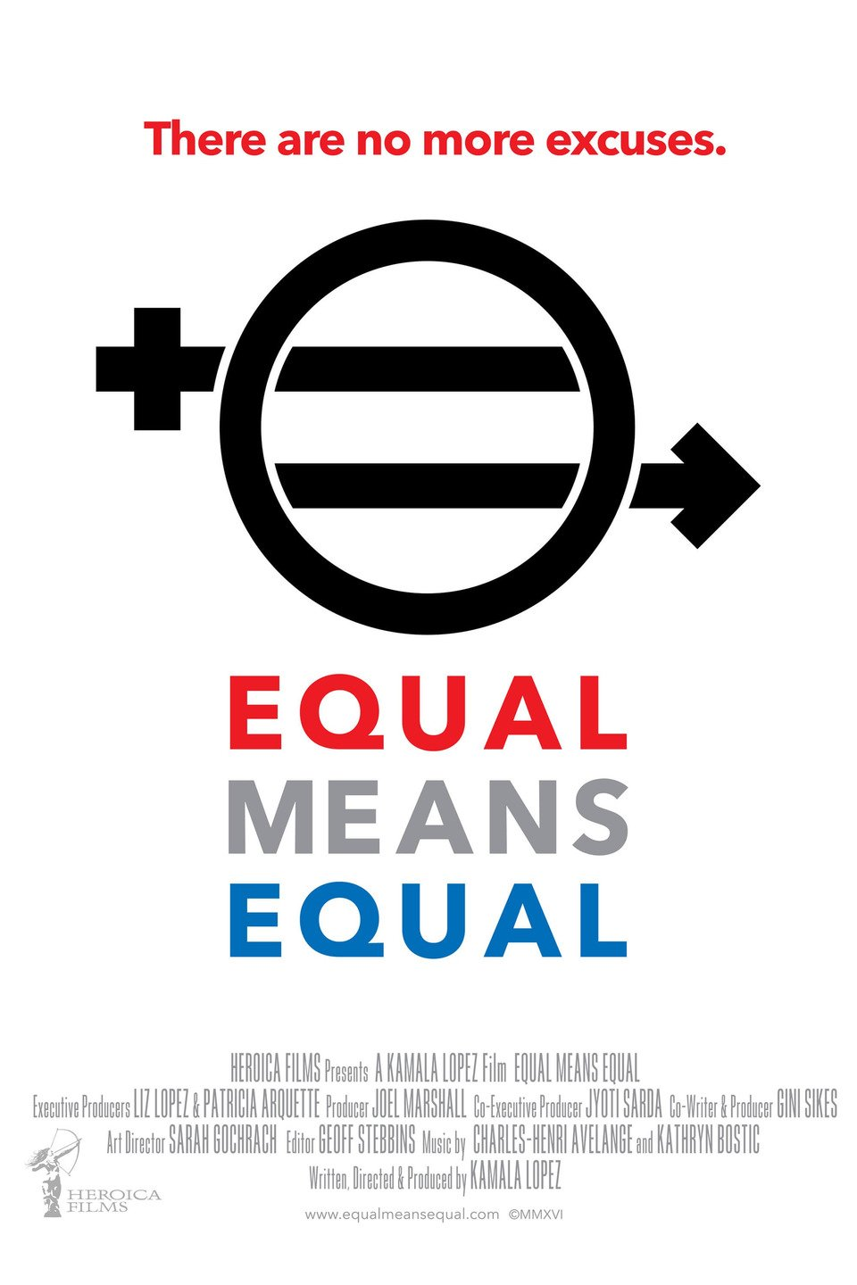 equal means equal poster